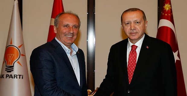 Muharrem İnce Cumhurbaşkanı Erdoğan'ı tebrik etti