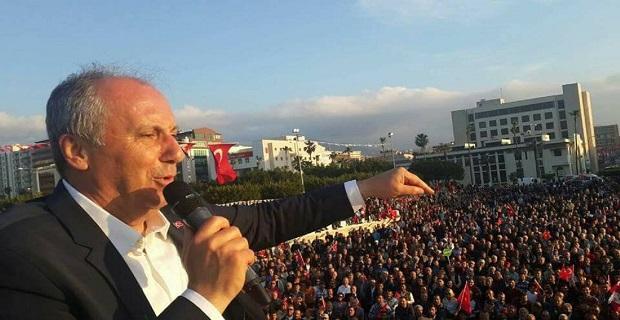 Muharrem İnce İstanbul'da konuşuyor