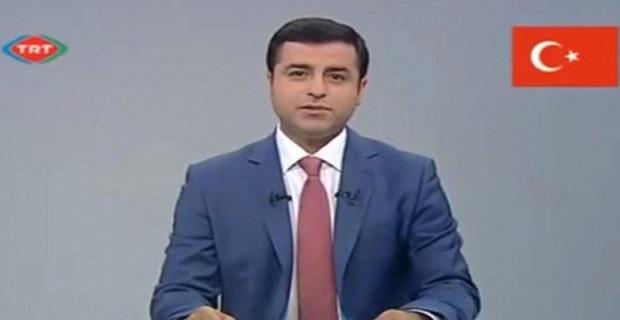 Selahattin Demirtaş TRT'de konuştu
