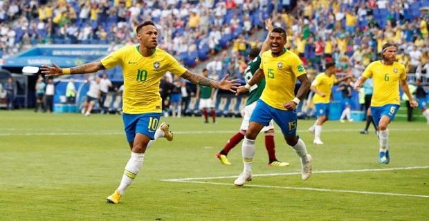 Brezilya Dünya Kupasında tarihe geçti