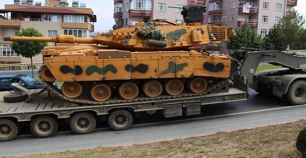 ASELSAN'ın modernize ettiği tanklar Suriye sınırına ulaştı