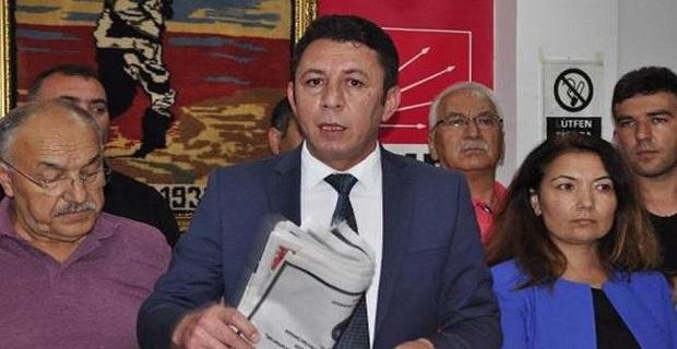 CHP'de Genel Merkeze tepki gösterip istifa ettiler