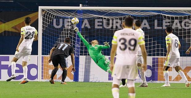 Fenerbahçe Avrupa Liginin ilk haftasında puan alamadı