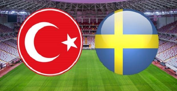İsveç-Türkiye maçı canlı yayın bilgileri
