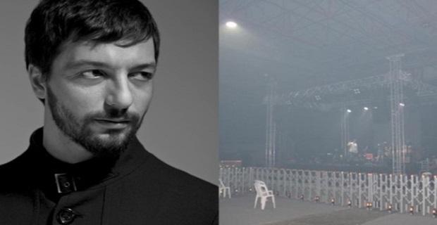 Mehmet Erdem konseri kebap dumanı nedeniyle iptal edildi