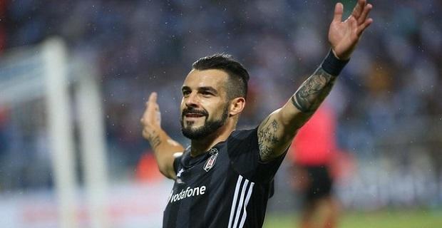 Negredo Beşiktaş'a böyle veda etti