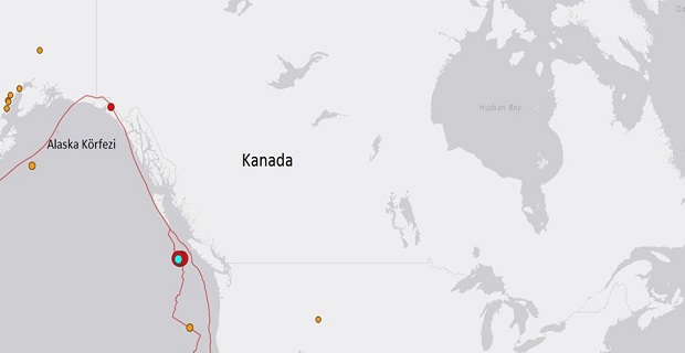 Kanada'dan korkutan haber, Önce 6.7 sonra 7.0 şiddetinde deprem oldu