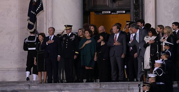 ABD Kongresinde George H. W. Bush için anma töreni