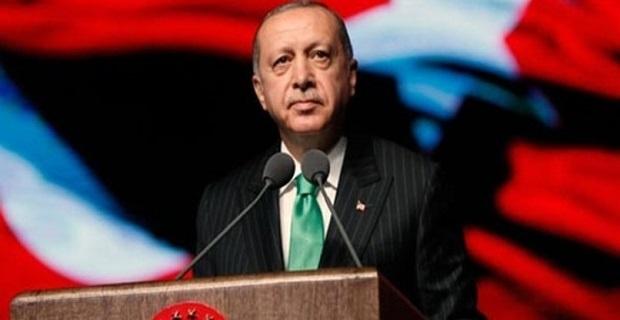 Cumhurbaşkanı Erdoğan'ın yeni yıl mesajı