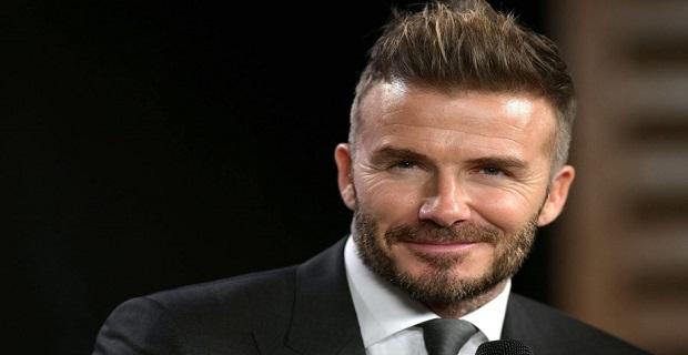 Eski futbolcu David Beckham'ın makyajlı hali şaşırttı