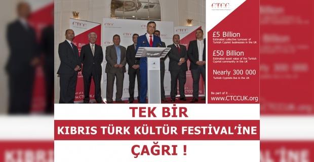 İngiltere Kıbrıs Türk Kültür Festivali çağrısı