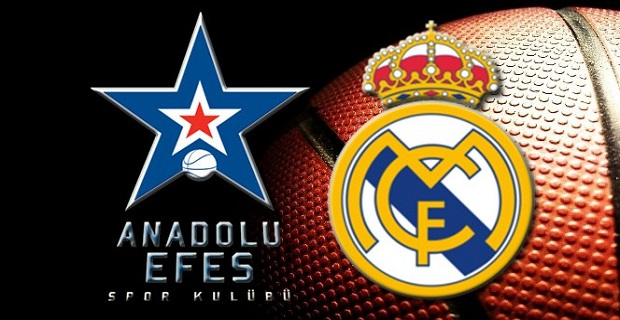 Real Madrid-Anadolu Efes basketbol maçı canlı yayın bilgileri