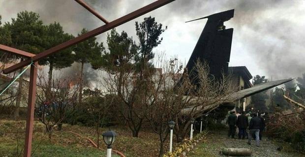 Son dakika, Tahran'da kargo uçağı düştü