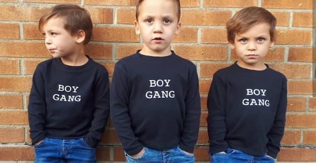 Üç yaşındaki Türk üçüzler, Mary Queen of Scots filminde oynadı