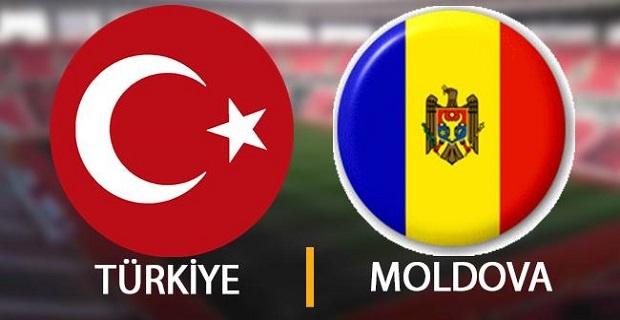 Türkiye Moldova maçı canlı yayın bilgileri