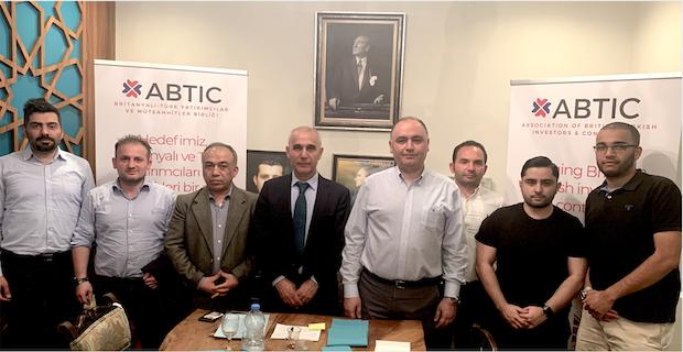 İngiliz-Türk Yatırımcılar ve Müteahhitler Birliği gündemi değerlendirdi