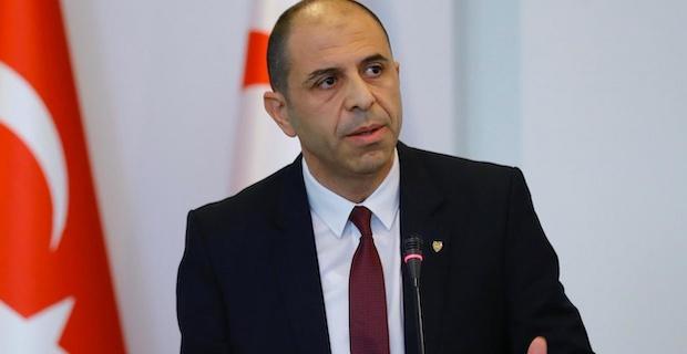 Özersay, AB'nin tutumu Kıbrıs Türkü'nün iradesine saygısızlıktır