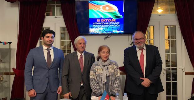 Azerbaycan Bağımsızlık Günü Londra'da Kutlandı