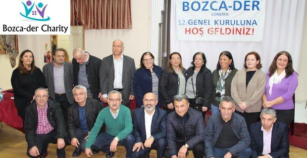 Bozcader Londra Genel Kurulu sonrasında yeni yönetim ve başkan belirlendi