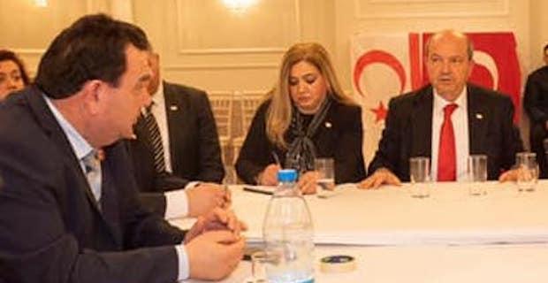 Türk Toplumu Futbol Federasyonu KKTC Başbakanı Ersin Tatar ile görüştü