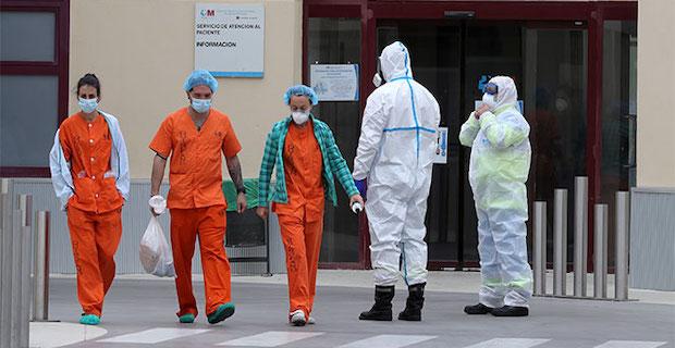 İspanya'da 12 bin 298 sağlık çalışanı koronaya yakalandı