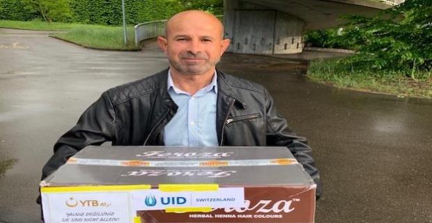 İsviçre'de Türk STK'lardan İhtiyaç Sahiplerine Yardım