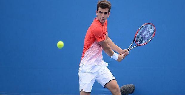 Milli tenisçi Ergi Kırkın, Doğu Avrupa Şampiyonası'na galibiyetle başladı