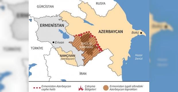 Azerbaycan'a Kuzey Kıbrıs Türk Cumhuriyeti'nden dayanışma iletisi