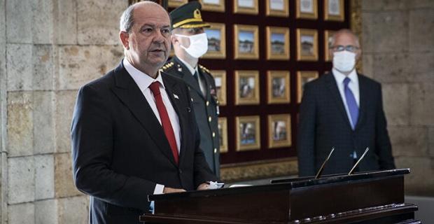 Kıbrıs eski Kıbrıs değildir, şartlar ve koşullar değişmiştir, KKKTC Cumhurbaşkanı Tatar'dan açıklama