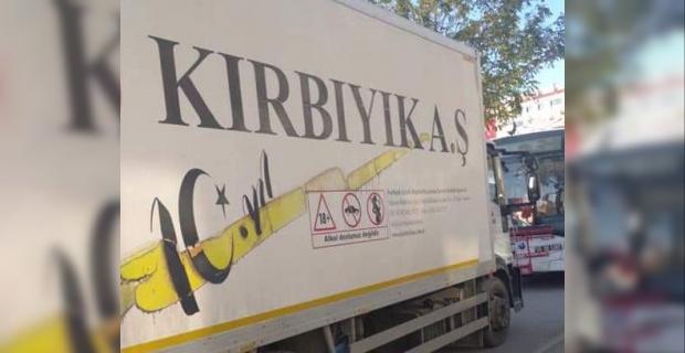 İzmir'deki depremzedelere 3 tır malzeme ve Suriye'deki Bayır Bucak Türkmenlerine yardım tırı, sırada Dağlık Karabağ var