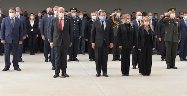 Kuzey Kıbrıs Türk Cumhuriyeti'nin Kurucu Cumhurbaşkanı Denktaş'a anma