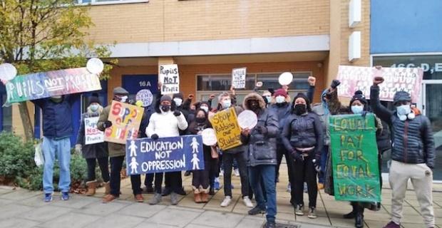Hackney bölgesinde yer alan Leaways Okulu'na destek !