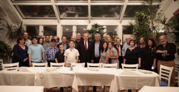 ABD'de yaşayan Kıbrıslı Türklerle Cumhurbaşkanı Ersin Tatar bir araya geldi ! Tatar'dan Rumlarla ortak zemin yok açıklaması