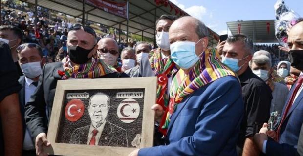 Devletten, egemenlikten ve özgürlükten vazgeçilemez, Güçlü Türkiye güçlü KKTC
