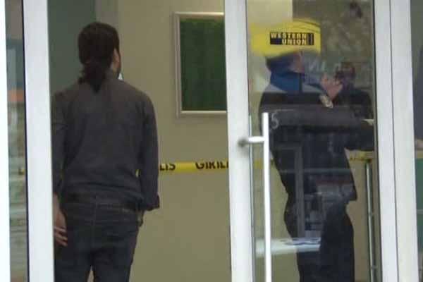 Bağcılar'da gündüz vakti banka soygunu