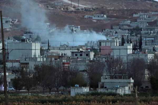 Kobani'de son durum, 16 Kasım 2014