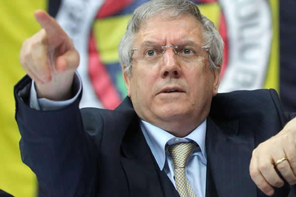 Fenerbahçe Başkanı Aziz Yıldırım, '10 yıl daha bu kulüpten gitmem'