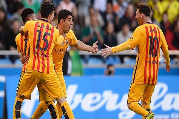 Barcelona deplasmanda Deportivo'yu 8 farkla yendi