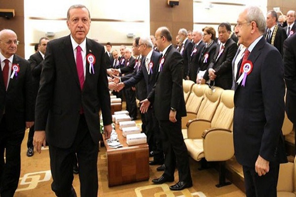 Cumhurbaşkanı Erdoğan ve CHP lideri arasında gerginlik