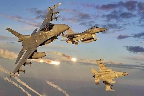 Türk Hava Kuvvetleri teröristlere yönelik hava saldırısı düzenledi