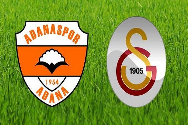 Adanaspor- Galatasaray maçı ne zaman ve saat kaçta oynanacak