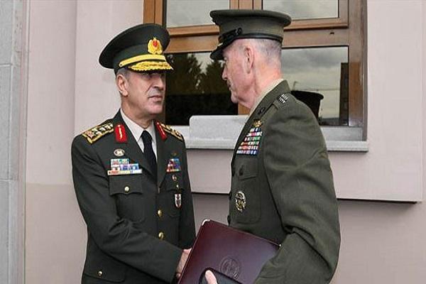 Hulusi Akar ile ABD'li mevkidaşı görüştü, Pentagon'dan açıklama geldi