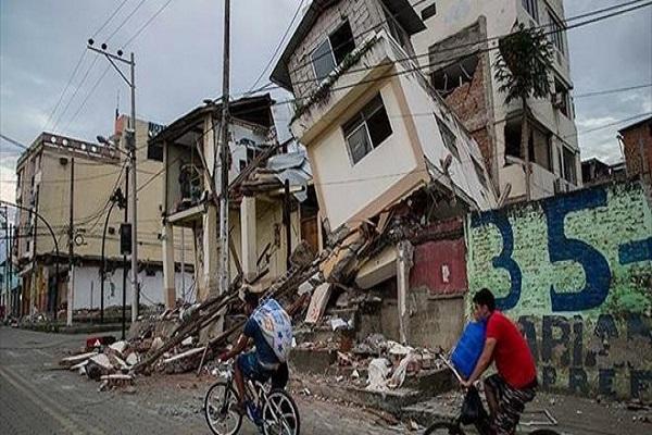 Ekvador'daki depremlerde 570 kişi hayatını kaybetti