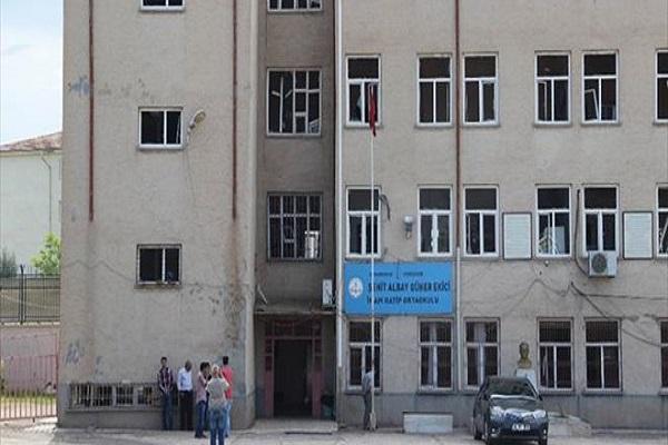 Terör saldırısının ardından o okulda eğitime ara verildi