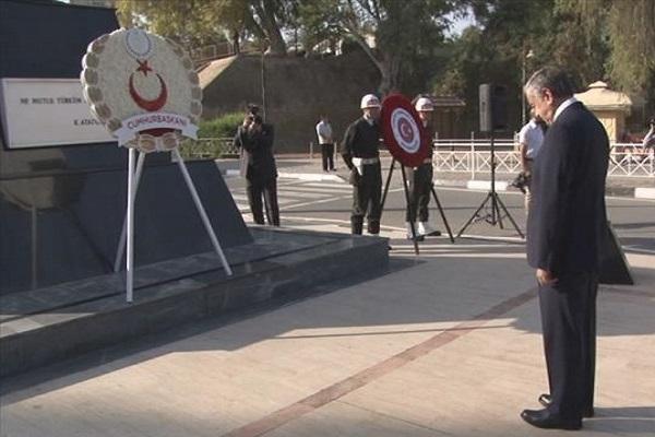 KKTC'de 29 Ekim dolayısıyla tören düzenlendi