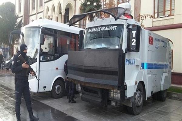 HDP Manisa İl binasında arama yapılıyor