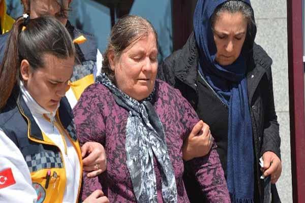 Abdullah Cömert'in annesi fenalaştı