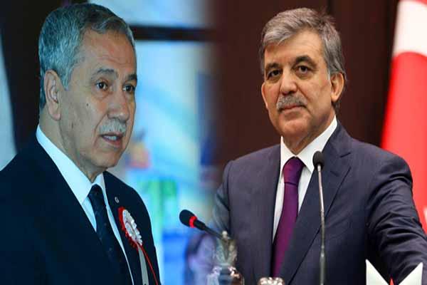Abdullah Gül ile Bülent Arınç parti kuruyor iddialarına yanıt