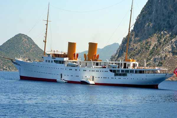 Cumhurbaşkanı Erdoğan artık o gemiyi kullanacak