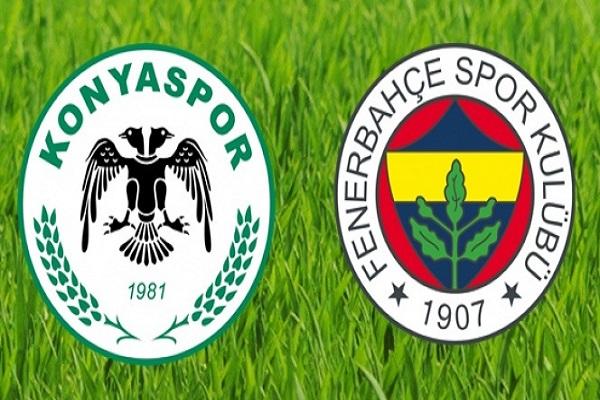 Atiker Konyaspor Fenerbahçe maçı canlı yayın bilgileri